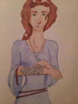 Marker Practice- Seraphina by Kelly-ART