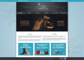 Shoes store web site by neverdying