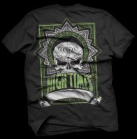 Hightimes T-shirt Design by chipMONKgrafx