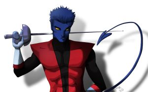 Nightcrawler by Paper-Rabbit