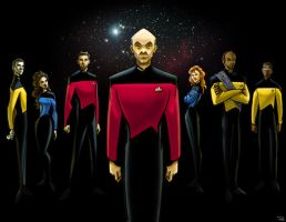 Star Trek: The Next Generation by rocom