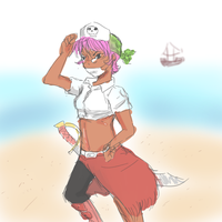 Pirate Nurse by The-Man-Called-G