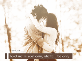 LIGHTIS: Your arms is where I belong by unknownimouz15