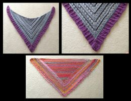 Shawls by fireflytwinkletoes