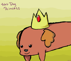 Hot Dog Princess-Adventure Time by Sophy-Chan77