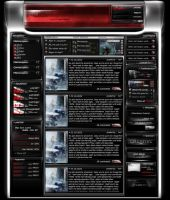 p4d.Gaming - Clanpage by rivadaice