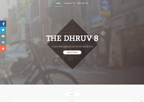 Visit My New Styled Website by TheDhruv