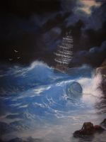 The Storm by frake