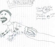 Leecher Drawing by tyranno-tycoon