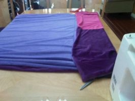MLP Blanket work in progress by Zazishi