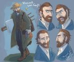 Vincent Van Gogh by MadJesters1