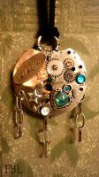 Steampunk 'Memory pendant' by The-ADD-Ninja