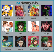 Art Summary by TheDayIsSaved