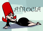 Obscure Characters: Atrocia by InFAMOUS-Toons