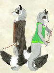 The Raccoon Brothers by fableworld