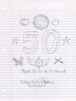 Thank You for the 50 Followers!!! by GreenMint4265