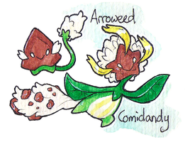 #073-074 Arroweed line by Coonae