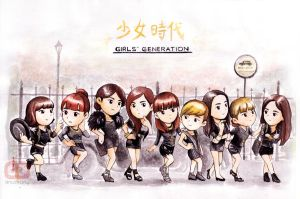SNSD Mr.Taxi by anosa228