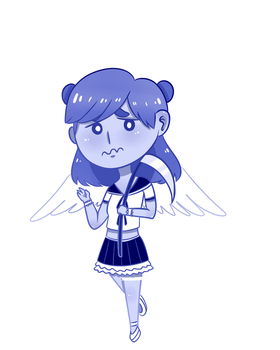 Magical Girl: Angel by thelichwitch