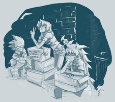 Marik s Evil Council of Doom by Kanda3egle