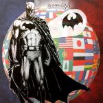 The Dark Knight Prays for Paris by samzhengpro