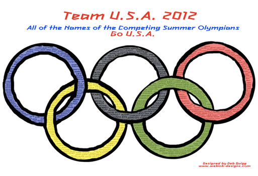 Ode To 2012 U.S.A. Olypic Team by debquigg