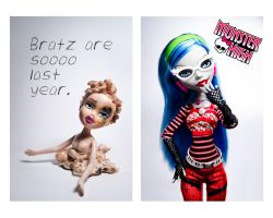 Monster High - Ghoulia Yelps by sadistic-beautician