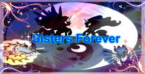 Sisters Forever Wallpaper by XXxPrincess-LunaxXX