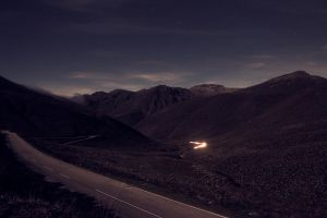 Night Andes by dotjose