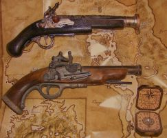 guns, guns, COMPASS by amiemo---1