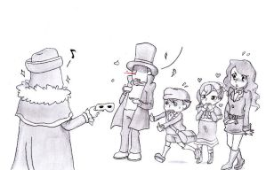 Professor Layton : Revelation by Blychee