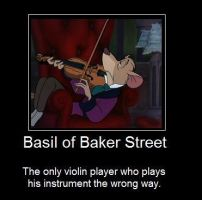 Basil of Baker Street poster by JudgeChaos