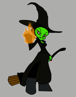Theodora the Wicked Witch, PSG style by Death-Driver-5000