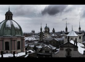prague- skyline by phide85