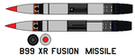 b99 XR fusion  missile by bagera3005