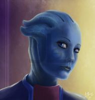 Liara T'Soni by JoelletheNose