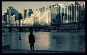 Darling Harbour by alcohobo