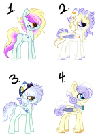Starshine and StarDust Foals by Pawscratch