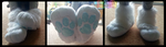 White Fursuit Sockpaws by TECHNlCOLOUR