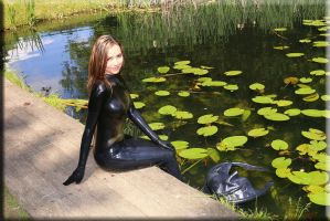 Latexmermaid5 by catsuitmodel
