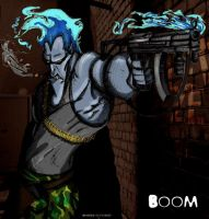 Machine gun COLORED by Lady-----HADES