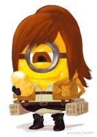 Minion Sasha by astrayeah