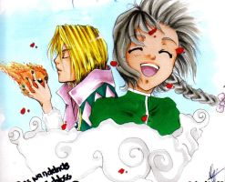 Howls moving castle xD by MIAOWx3