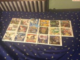 My Nintendo 3DS Collection by UKD-DAWG