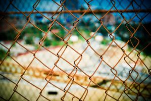 Chain Fence by Eevl