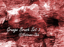 Grunge Brushes Set 3+ by Natsume-Shin