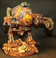 Ork custom Deff Dread by billking
