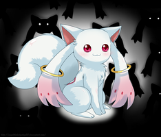 - Kyubey - by Miss-Gardenia