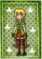 Linkle by ninpeachlover