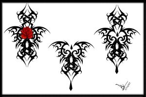 Flower Lower Back Rose Tattoo Designs Picture 6